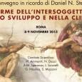 Convegno in ricordo di Daniel N. Stern ROMA, 8-9 NOVEMBRE 2013