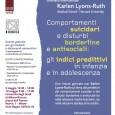 """Il 9 e 10 Maggio 2014, presso l'Aula Magna dell'Università Bicocca, la prof.ssa Karlen Lyons-Ruth(Medical School – Harvard University) terrà un seminario per due mezze giornate dal titolo """"Comportamenti […]"""